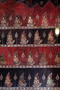 Mural Painting in Phra Ubosot, Wat Suwannaram
