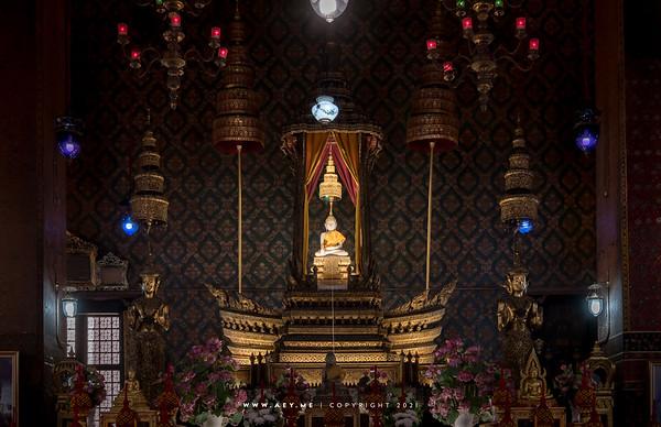 Phra Buddha Thewa Wirat, Wat Thepthidaram