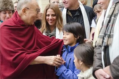 Vítání Jeho Svatosti 14. dalajlamy v ČR │ Welcoming HH Dalai Lama in Czech Rep 2016