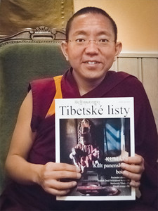 "Dolpo Tulku Rinpoche: ""Bardo - The different stages of Life and Death"", teaching in Prague December 2013."