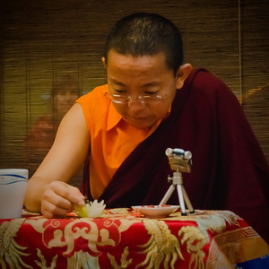 Dolpo Tulku Rinpoche seminar, Prague December 2013.