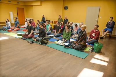 Lama Sangye Monlam teaching in Prague