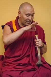 Lama Sangye Monlam teaching in Prague 11-13 July 2014