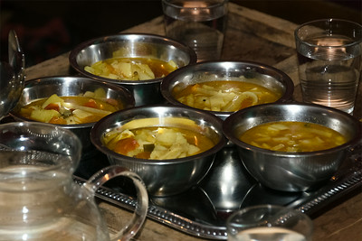 Lunch with Lama Sangye. tearoom Dharamsala, Prague
