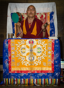 Lama Sangye Monlam teaching in Prague 11-13 July 2014