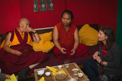 Lama Sangye Monlam in Prague