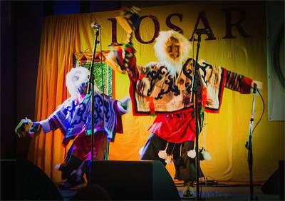 Traditional Tibetan art in Losar 2141 Prague