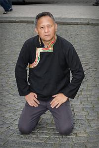 Guitarist Rinzing Wangyal, Prague 2014