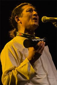 Jhola Techung at concert Roxy Prague
