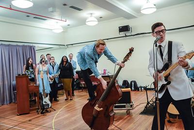 Buddy: The Buddy Holly Story NY rehearsal