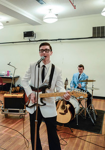Buddy: The Buddy Holly Story NY rehearsal