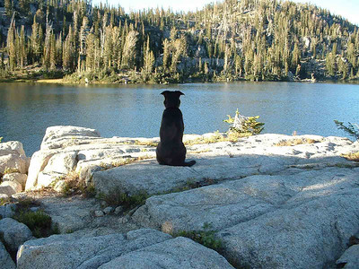 Eagle cap wilderness backpacking trip, his first