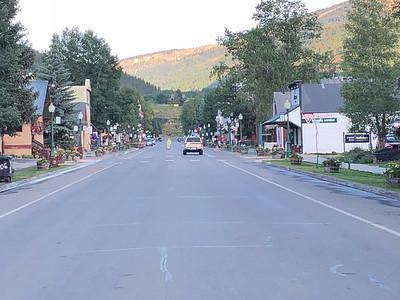 Elk Ave. Crested Butte, CO. Sunrise 7/21/18