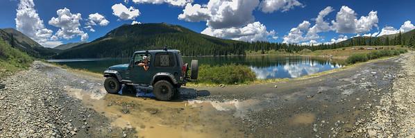 Mirror Lake on Tincup Pass. 7/22/18