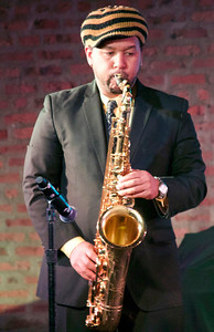 Chris Neal of Anthony Moser and The Fat Tone Blues Band