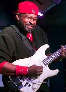 Rick Jaz, guitarist in Buddy Guy's band