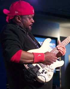 Rick Jaz, guitarist in Buddy Guy's band.