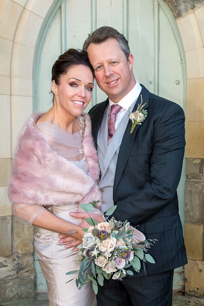 Zoe Lewis & Mr Andrew Kippax from Rawdon, Leeds who were married at York Register Office on 2nd November.<br /> <br /> Photo:  Kate Mallender Photography