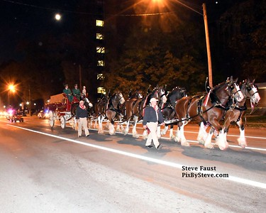 Budweiser Clydesdales Huntington 2016