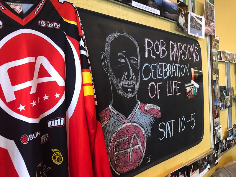 Rob's Memorial, April 2018