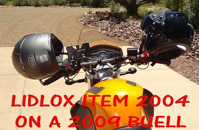 Item 2004 on a 2009 Buell Ulysses