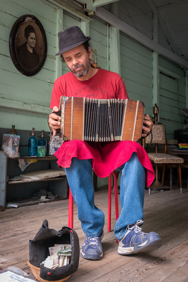 Accordion Player, La Boca