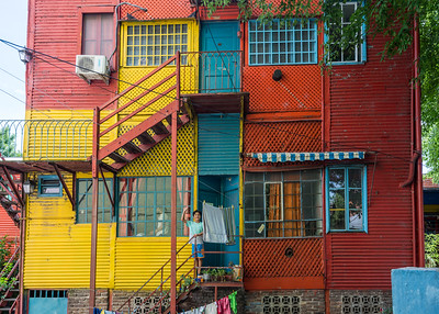 The Colors of La Boca