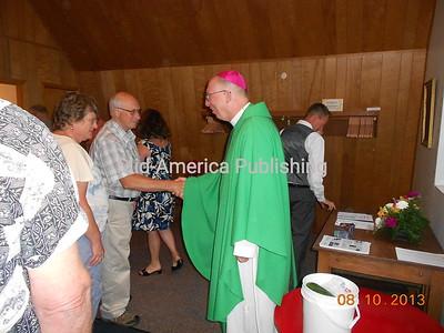 Archbishop Jackels at St. Patricks Catholic Church
