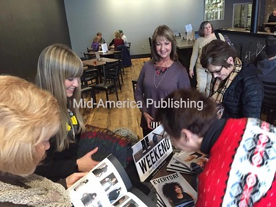Jen Geigley's Book Signing in Mason City