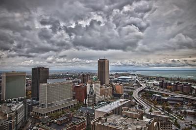 Buffalo Skyline - Buffalo NY