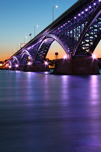 Peace Bridge Purple - Buffalo NY