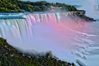 Niagara Falls Lights - Niagara Falls NY