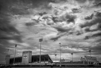 Storm Over Ralph Wilson Stadium - Buffalo NY
