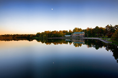 Hoyt Lake at Twilight - Buffalo NY