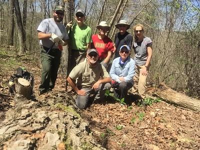 Wilderness Volunteers: 2016 Buffalo National River Service Trip