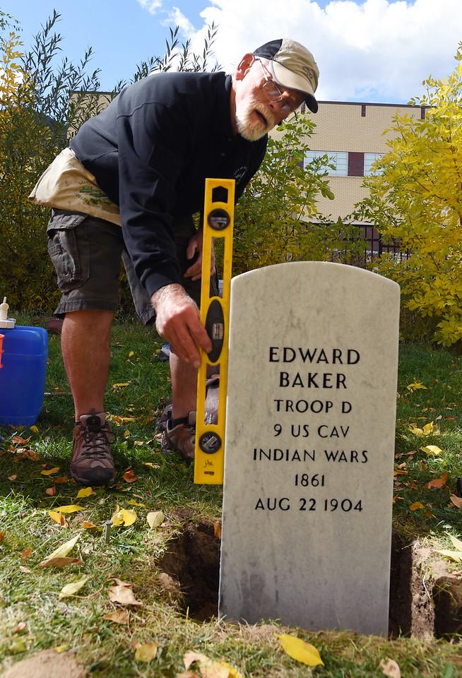 Buffalo Soldier Gets Headstone