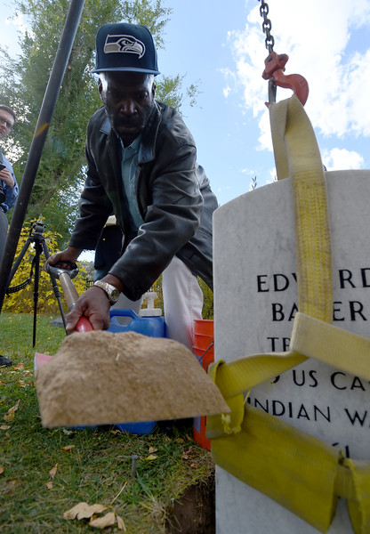 Buffalo Soldier Gets Headstone
