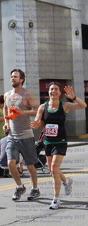 Kristen & Greg,  Run, Way to go!!