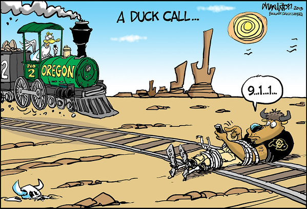cuoregondrew.jpg Drew on CU: Drew Litton on Colorado football. No. 2 Oregon at Colorado. Oct. 5, 2013.