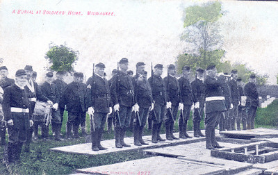 Burial at Soldiers Home, Milwaukee