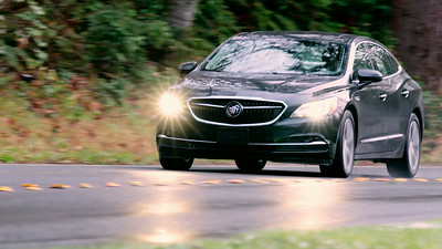 2017 Buick LaCrosse AWD Driving Footage