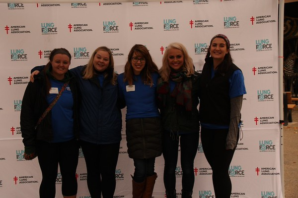 2015 LUNG FORCE Walk Team/Photo Booth Photos