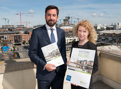 Eoghan Murphy TD Minister for Housing, Planning and Local Government, Rosalind Carroll, Director, Residential Tenancies Board Ireland