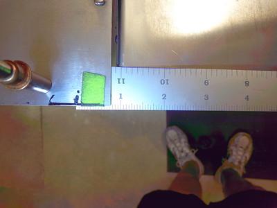 "Measurement of distance ""A"""