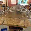 Center Wing spar ready for skinning.