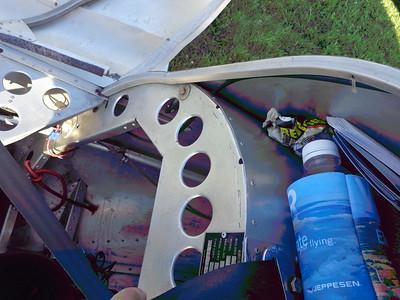 Interior of Rear Cockpit