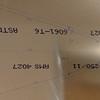 Dorsal Fin - Layout on 0.016 aluminum