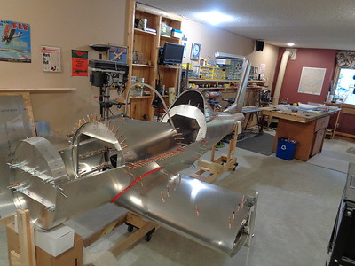 Instrument Cover and  Canopy Bow installed