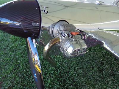 Steve Cole - Spinner and 1/2 VW Casler Engine