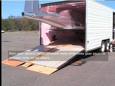YamahaC7SRG UltraCruiser trailer final loading
